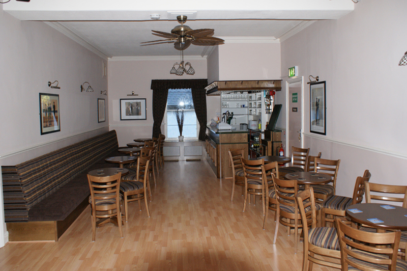The upstairs function room
